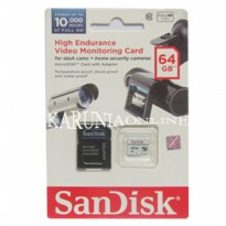 SanDisk MICROSDXC 64GB High Endurance Video Monitoring