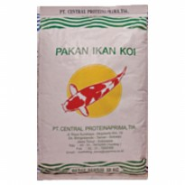 CPPETINDO Pakan Koi (PK) 2mm - Red 10kg Fish Food