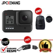 GoPro HERO 8 Black - Go Pro Hero 8 - GoPro Hero8 Black Bundle GARANSI RESMI