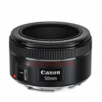 Canon Lens EF 50mm f/1.8 STM Lens - Free UV Filter 49mm + Lenspen