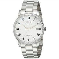 [macyskorea] Mido Mens MIDO-M0104081103300 Baroncelli Analog Display Swiss Automatic Silve/17543627