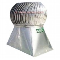 "Jual Cyclone L 60 DF 24"" ( 60 cm ) Stainless Steel │Turbin Ventilator"