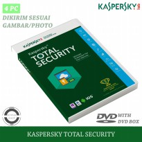 Kaspersky Total Security 2021 Original 4 PC 1 Tahun (Ampuh Mengatasi Virus Ransomware)