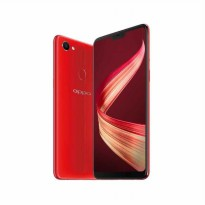 OPPO F7 Pro Smartphone - Red [128GB/ 6GB] FREE TONGSIS