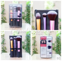 Eksklusif Real Techniques Brush Travel Essentials / 3 Brush