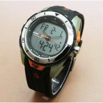 TIMEX IRON MAN BLACK ORANGE