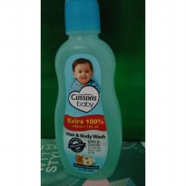 cussons baby hair and body wash 100+100ml
