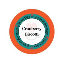 [poledit] Smart Sips, Cranberry Biscotti Gourmet Coffee, 24 Count, Compatible With All Keu/14410581