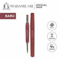 Madame Gie Double Trouble Matte - MakeUp Lipstick Two in One