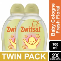 Zwitsal Baby Cologne Classic Fresh Floral 100ml - Twin