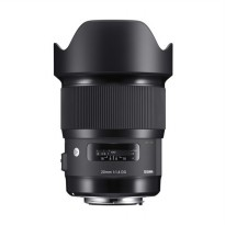 Sigma 20mm F1.4 DG HSM Lensa kamera for Canon