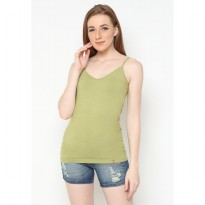 Mobile Power Ladies V-neck Tanktop - Green I6673