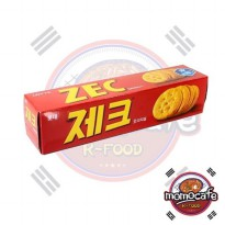 Lotte Korean Zec Cheese Crackers Krekers Keju Korea