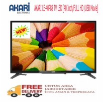 Akari LE-40P88 TV LED HD 40 Inch USB Movie-Promo