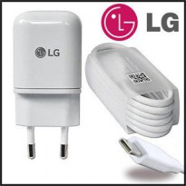LG Travel Charger Tipe C G5 White Ori Original 100% High Quality Fast Charging