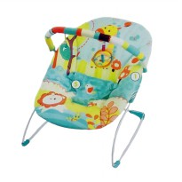 Mastela Music and Soothe 6703 Baby Bouncer - Green