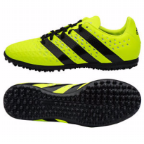 Adidas 2016 ACE 16.3 TF Futsal Cleats Football Soccer Shoes BlackVolt S31960