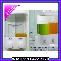 (Dijamin) [ sabun 2in1-Dispenser sabun ] manual hand soap touch soap