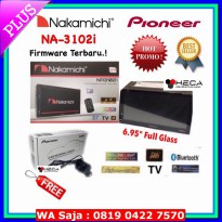 #Audio Mobil PROMO! Double Din Tape TV Mobil Nakamichi NA-3102i + Camera Pioneer