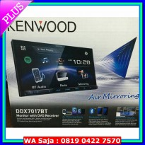 (Audio Mobil) Kenwood DDX-7017BT Head Unit Double Din Tape Audio Mobil DDX 7017 BT