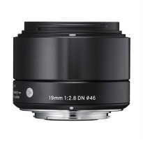 Sigma Lensa 19mm F/2.8 DN For Sony E - Black