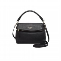 Kate Spade New York Purse Hill Mini Minka Crossbody Cobble Bag Black