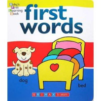 [HelloPanda] Baby's First Learning Book FIRST WORDS Boardbook