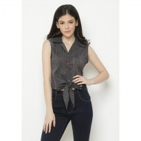 Mobile Power Ladies Sleeves Bolero - Grey C6368
