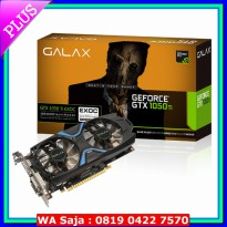 GALAX Geforce GTX 1050 Ti EXOC (EXTREME OVERCLOCK) 4GB DDR5 - Dual Fan