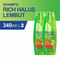 Rejoice Shampoo Rich 340ml - Paket isi 2