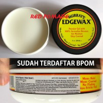 POMADE MURRAYS EDGEWAX WATERBASED 4 OZ WATER BASED WATERBASED SUDAH BPOM + FREE SISIR