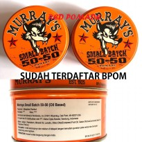POMADE MURRAYS SMALL BATCH 50-50 3 OZ OILABSED OIL BASED SUDAH BPOM + FREE SISIR