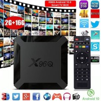 X96Q Android Tv Box ram 2gb rom 16 GB Allwinner New Android
