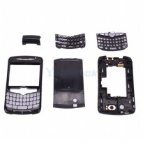 Replacement Full Set Housing Casing BlackBerry Curve 8300/8310/8320-Hitam