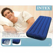 KASUR UDARA Kasur Angin INTEX Air Bed 1.91 x 76cm x 22cm Air Lock Classic Downy Kode Promo Spesial 1