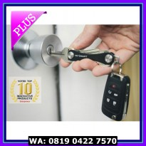 (Murah) KeySmart Keychain Swiss army Key Holder Organizer EDC