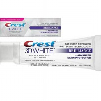 Crest 3D White Brilliance Vibrant Peppermint Toothpaste 116g