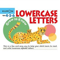 [HelloPanda] Kumon Grow to Know Lowercase Letters (Ages 4,5,6)