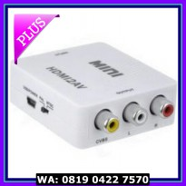 (Diskon) miniBox Hdmi to AV Rca