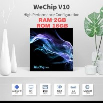 Wechip V10 Allwinner H616 Android Tv Box