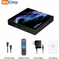 Wechip V10 Allwinner H616 Android Tv Box ram 4GB rom 128GB