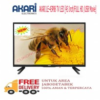 AKARI LE-43P88 TV LED 43 Inch FULL HD-USB Movie-Promo