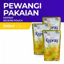 Kispray Refill Pouch Segeris 300Ml x5
