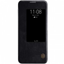 Nillkin Qin Leather Flip Case Huawei Mate 20 Pro Black