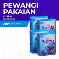 Kispray Dus Bluis 21Ml - 4 Dus
