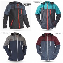 JAKET HODIE PARASUT UNTUK OUTDOOR HIKING -BAHAN ANTI AIR ANTI ANGIN