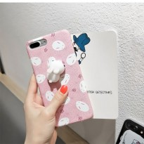 Casing Iphone 6/6s/6 Plus/6S Plus/7/7Plus Cute Bunny Squishy Case