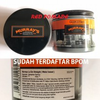 POMADE MURRAYS LA EM STRAIT WATERBASED 4 OZ WATERBASED WATER BASED SUDAH BPOM + FREE SISIR