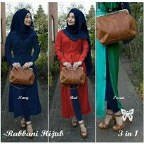 Rabbani Hijab 3in1