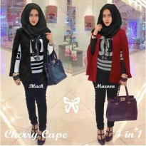 CHERRY CAPE HIJAB